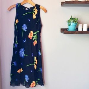 Donna Rocco | Black Floral Parisian Dress
